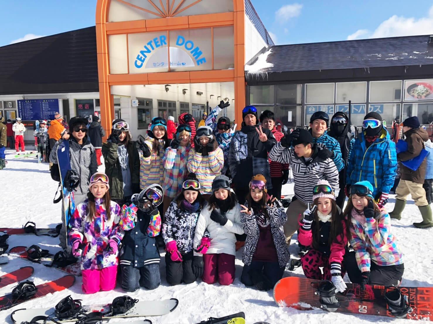 2019!クラブチックグループ★スノボツアー